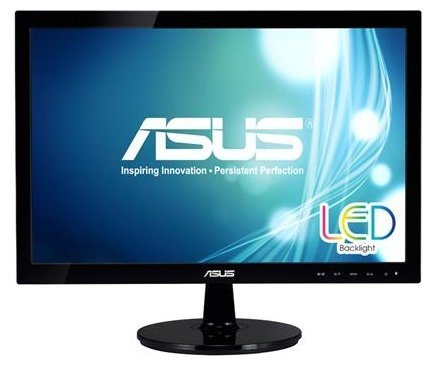 Монитор 18.5 Asus VS197DE Black TN LED 5ms 16:9 50M:1 250cd